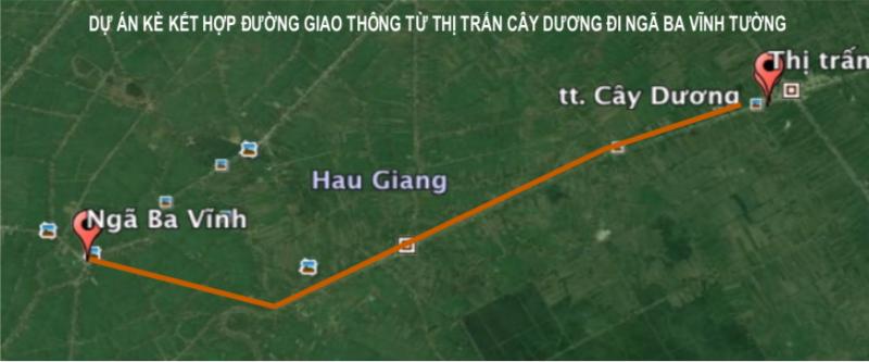 Dự án Cây Dương - Vĩnh Tường